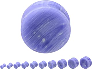 blue lace agate plugs