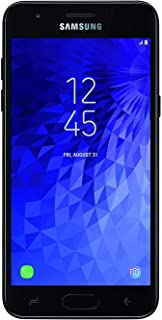 Samsung Galaxy J3 (2018) J377A 16GB Unlocked GSM 4G LTE Phone w/ 8MP Camera - Black (Renewed)