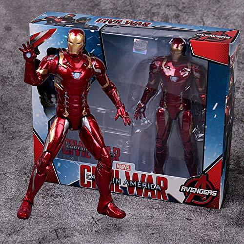 YXCC Iron Man Action Figure Modello di Personaggio Spider Infinity War Doll