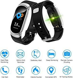 LIGE Fitness Trackers,Color Screen Activity Tracker Waterproof Sports Watch Smart Bracelet with Heart Rate