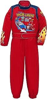 Disney Store Cars 2 Lightning McQueen Costume Light Up Racing Suit