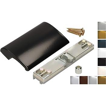 KOTARBAU - Tirador para puerta de balcón, de aluminio, para terraza, balcón, seguro para fumar, para cerrar la puerta, mango universal: Amazon.es: Bricolaje y herramientas
