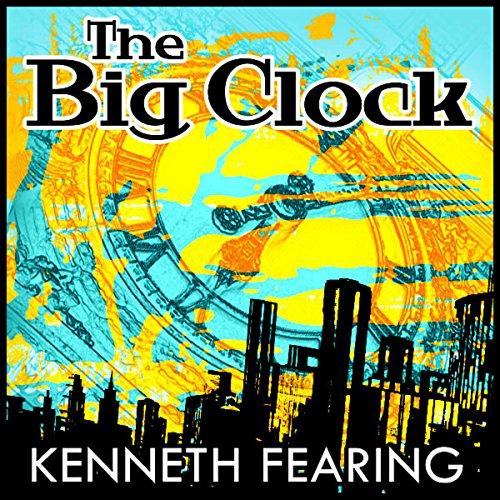 The Big Clock audiobook cover art
