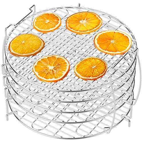 For Sale! Dehydrator Rack, Packism 5 Tier Food Dehydrator Stand for Ninja Foodi Accessories, Fits 6....