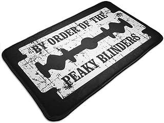 HUTTGIGH By Order Of The Peaky Blinders - Alfombrilla antideslizante para puerta de entrada, alfombra de baño, alfombra de...