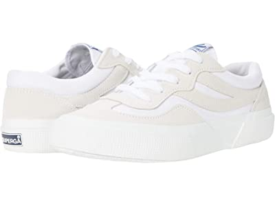 Superga 2941 Revolley Suecotu Sneaker (White Multi) Women