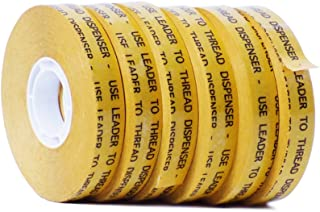 WOD ATG-7502 General Purpose ATG Tape, Adhesive Transfer Tape Glider Refill Rolls Clear Adhesive on Gold Liner (Acid Free and Available in Multiple Sizes): 1/2 in. wide x 36 yds. (Pack of 6)