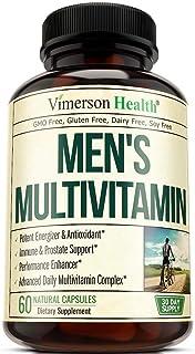 Men's Daily Multimineral Multivitamin Supplement. Vitamins A C E D B1 B2 B3 B5 B6 B12. Magnesium,...