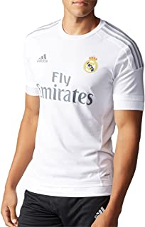 adidas Real Madrid CF Home Authentic Jersey-White