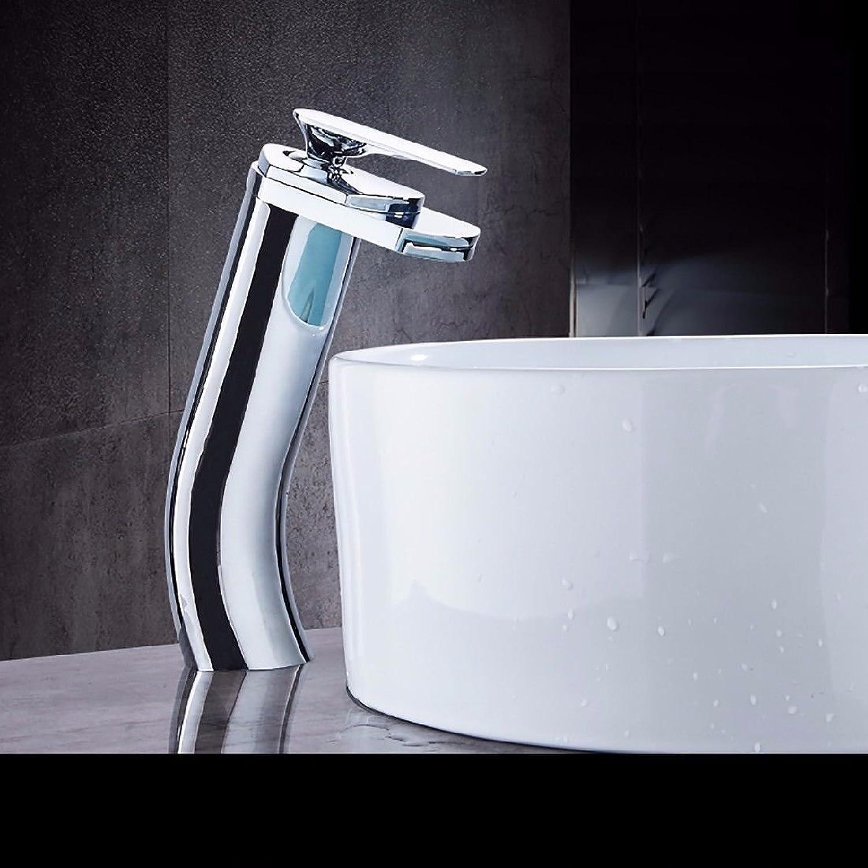NewBorn Faucet Küche oder Badezimmer Waschbecken Mischbatterie Das Kupfer kalt- und Einzelne Bohrung Wasserfall Armaturen Ein