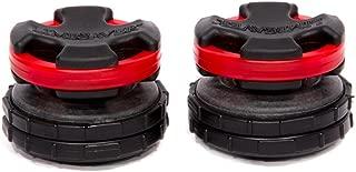 LimbSaver Broadband Dampener for Split Limb Compound Bows, Red, 2-Pack