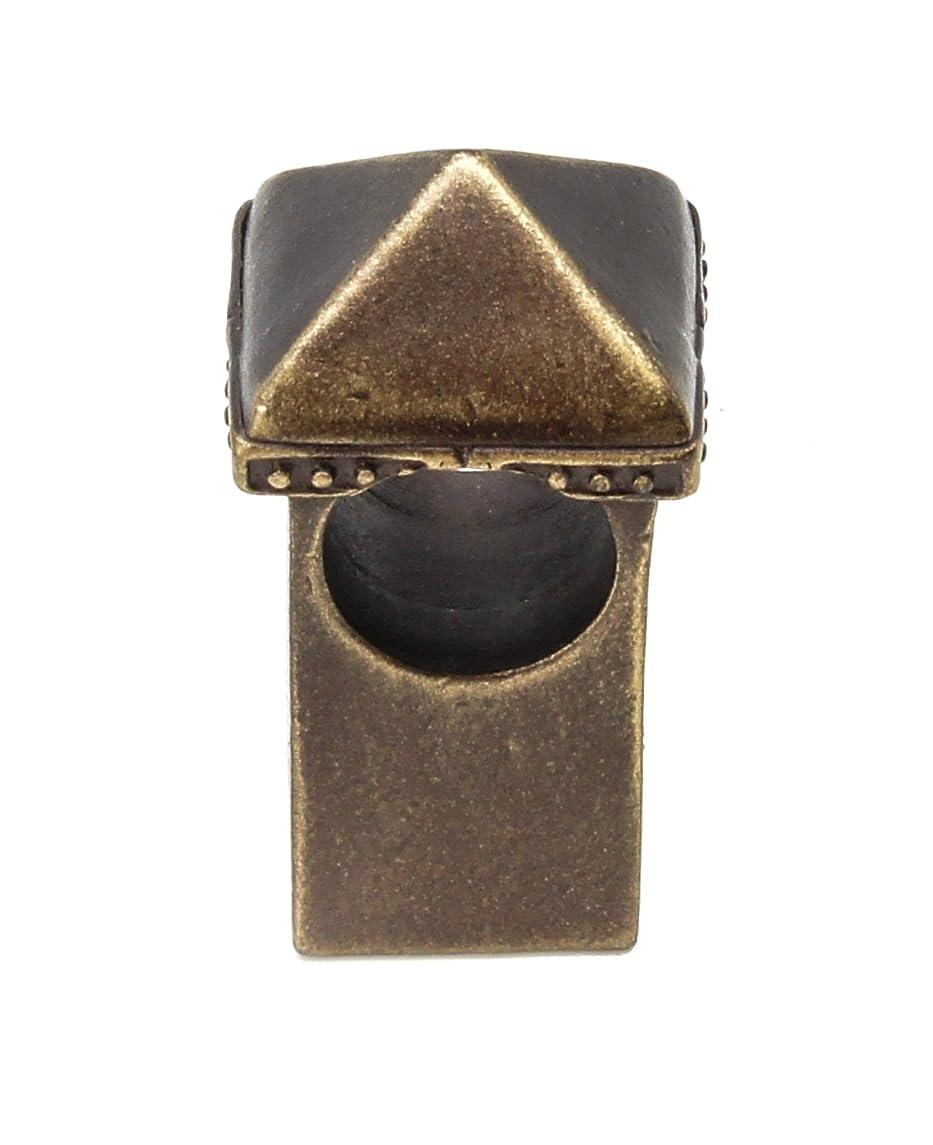 Carpe Diem Hardware 2061-3 Mission Decorative Center Brace, Antique Brass