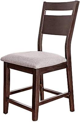 Amazon.com: Proman Manchester silla Valet, Madera, Mahogany ...