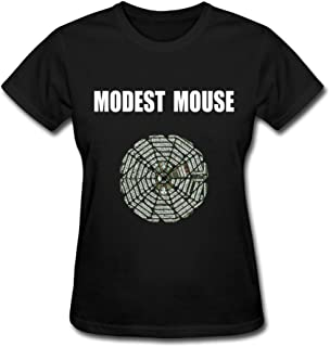 Women's Modest Mouse Strangers To Ourselves Short Sleeve Tshirts Size M Black
