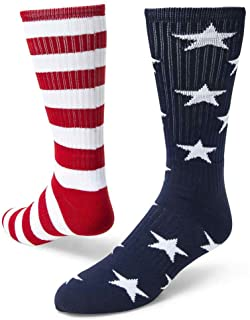 Red Lion Freedom Mismatched Crew Socks