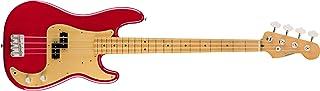 Fender Vintera '50s Precision Bass – Diapasón de arce – Dakota Rojo