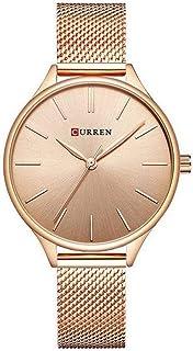 Relógio, Analógico, Curren, C9024L, Feminino, Rose