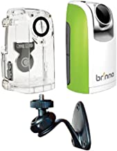 Brinno TLC200 Time Lapse and Stop Motion HD Video Camera – Green (BCC50 2016 Bundle)