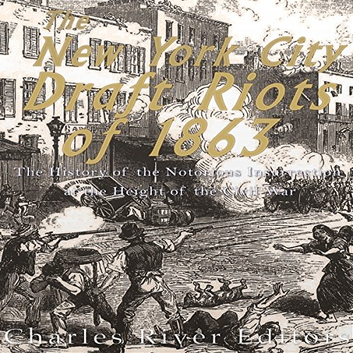 The New York City Draft Riots of 1863 audiobook cover art