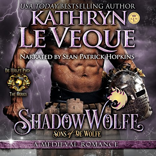 ShadowWolfe audiobook cover art