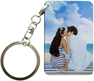 1.6×2.4ich Personalized Custom Keychain Print Logo Photo Picture Key Chains Holder 4×6cm