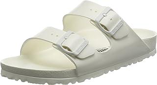 0261b9e41bc3 Birkenstock Unisex Arizona Essentials EVA White Sandals - 8 D(M) US   10