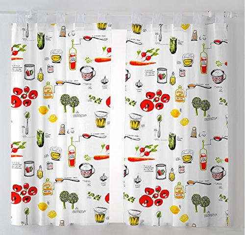 Telas cortinas cocina modernas