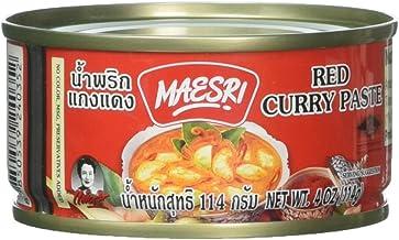 Maesri Thai red curry - 4 oz x 2 cans