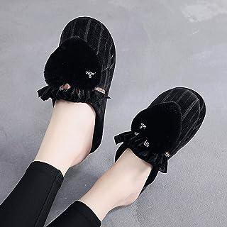 Treslin Dames Huis Slippers Memory Foam Slippers voor Vrouwen Comfortabele Warm Gezellige Niet Slip Indoor Outdoor Thuis S...