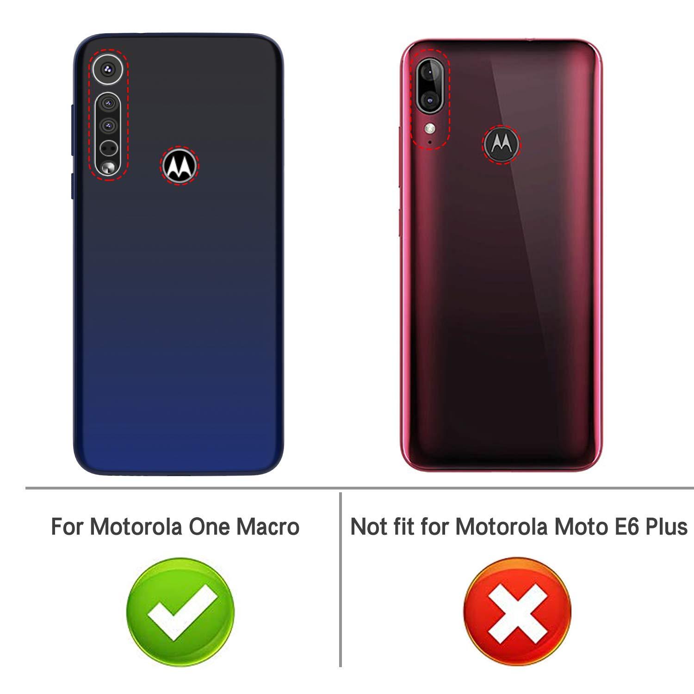 iBetter Diseño para Funda Motorola One Macro/Moto G8 Play Funda ...