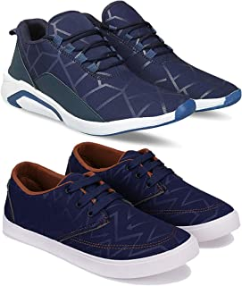 Bersache Combo Pack of 2 Casual, Sneaker and Loafer Shoes for Men