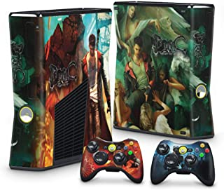 Skin Adesivo para Xbox 360 Slim - Devil May Cry 5