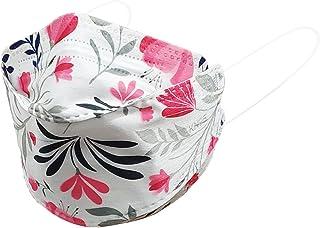 Máscaras KN95 3D KF94 Florida - Kit de 10 unidades - Embalada INDIVIDUALMENTE - Branca, Preta, Colorida - 5 camadas - SOS ...