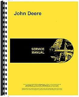New John Deere 1550 Backhoe Service Manual (Attachment)