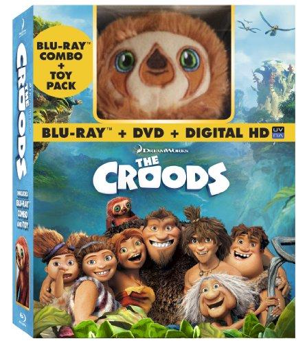 The Croods (Blu-ray / DVD + Digital Copy + Toy)