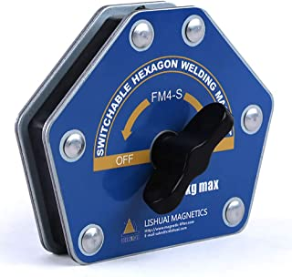 Switchable Hexagon Welding Magnet Strong Multi-angle Welding Holder (Small)