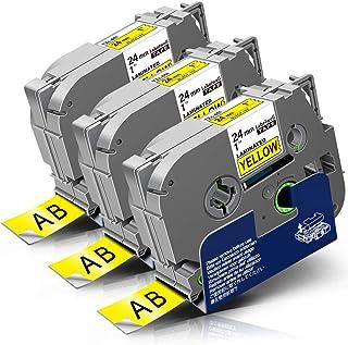 kompatible Label Etiketten Rolle für Brother P-TouchQL650TD DK44205 Weiß