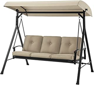 Amazon Com Canopy Porch Swings Patio Seating Patio Lawn Garden