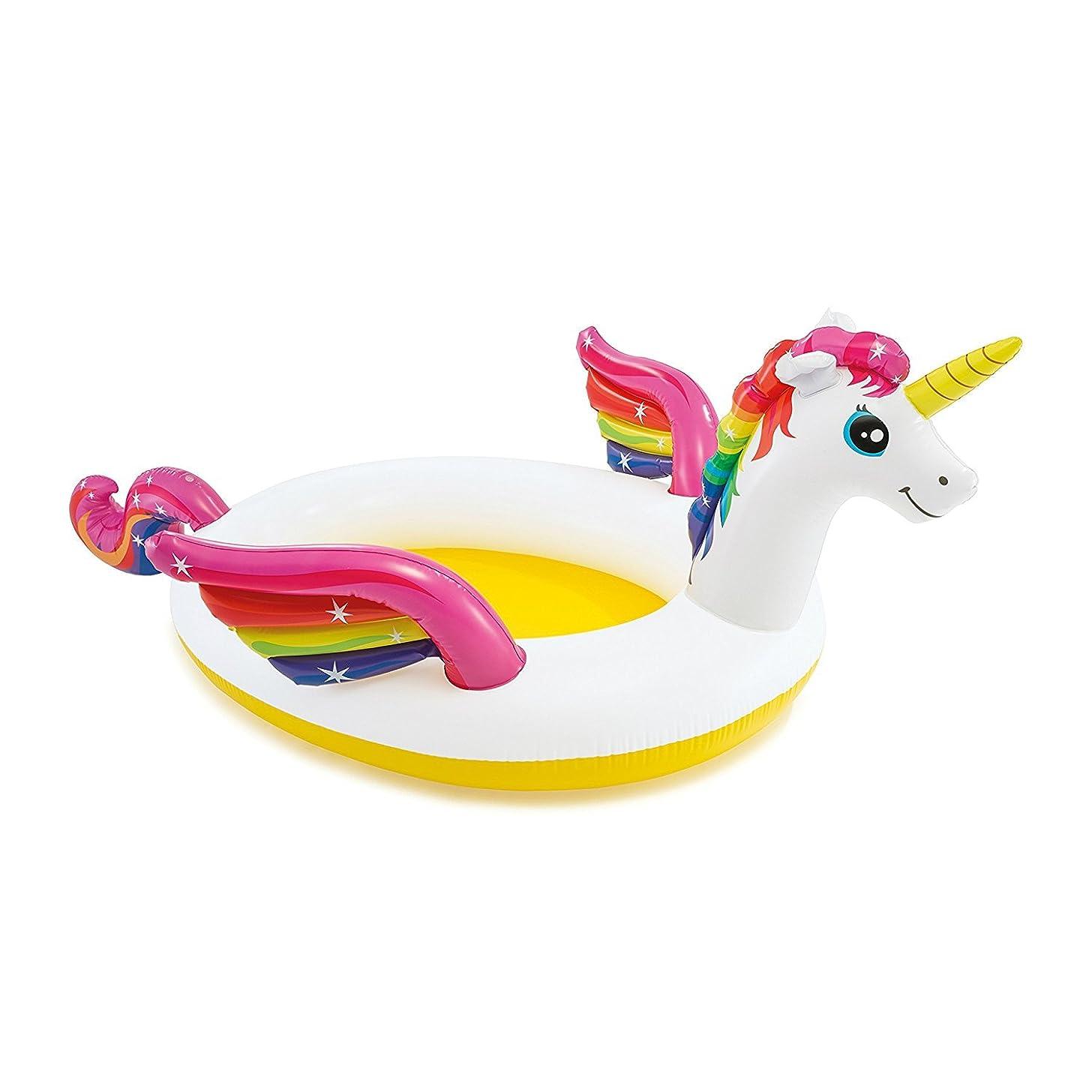 JGT Mystic Unicorn Inflatable Spray Pool, 107