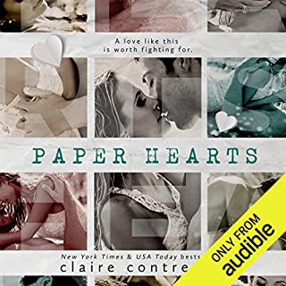 Paper Hearts audiobook cover art