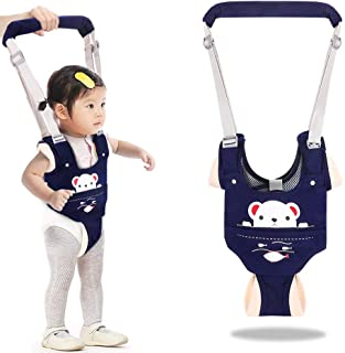 2 Pack Handheld Baby Walker Help The Baby Safely Stand up and Walking Walking Learning Helper for Kids Magnoloran Toddler Walking Assistant Protective Belt Baby Walking Safety Harness Stand Up and Walking Learning Leash