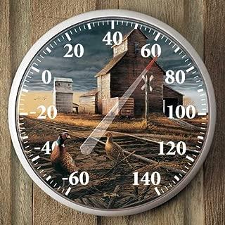Prairie Skyline Pheasants Thermometer by Terry Redlin