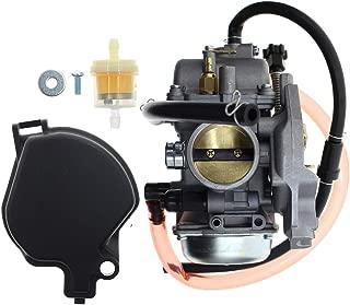 AUTOKAY Carburetor for Suzuki Vinson 500 2002-2007 LTA500F LTF500F 4x4 Auto/Manual