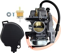 AUTOKAY Carburetor for Suzuki Vinson 500 2002-2007 LTA500F LTF500F 4x4 Auto/Manual