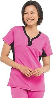 healing hands Purple Label Yoga Women's Jessi 2270 Y-Neck Top Scrubs