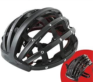 SDSVFG Folding Ultralight Men Mountain Women MTB Windproof Glasses Bicycle Helmet