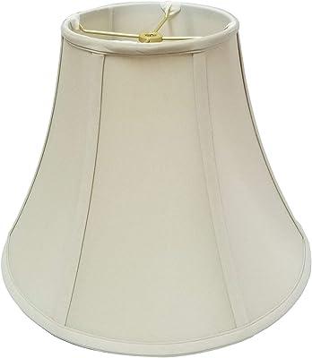 Pantalla para l/ámpara octogonal con l/íneas suaves de Oaks Lighting S852//10 Go dorada seda