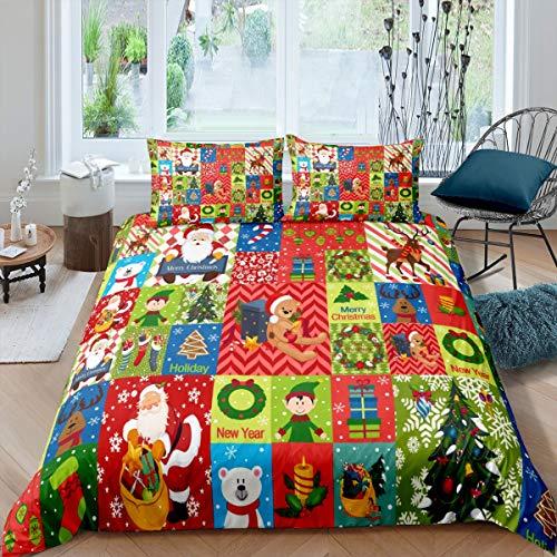 ropa de cama de navidad de la marca Feelyou