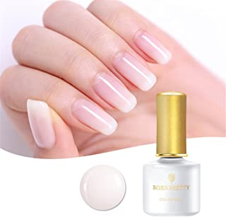 BORN PRETTY Opal Jelly Gel Blanco Soak Off Manicure Nail Art UV Gel polaco 1 botella 6 ml
