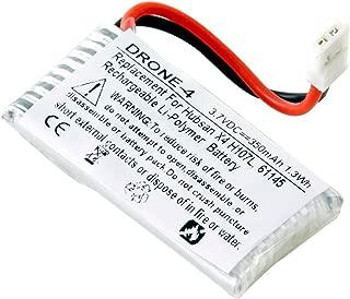 Dantona replacement for Hubsan X4 H107L, 61145, 350mAh, 3.7v, Li-Pol